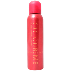 Colour Me Red Body Spray