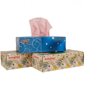 Bashundhara Facial perfumed Tissue 240 Sheet