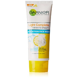 Garnier Light Complete Duo Action Face Wash 100gm