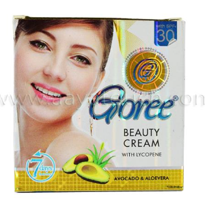 Goree Beauty Cream AVOCADO & ALOEVERA 7 Days Recovery