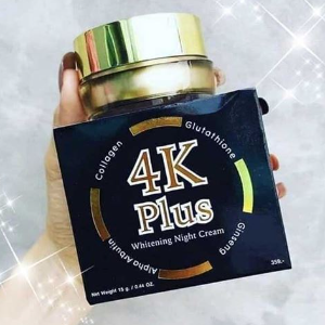 4K Plus Whitening Night Cream 5X 20g