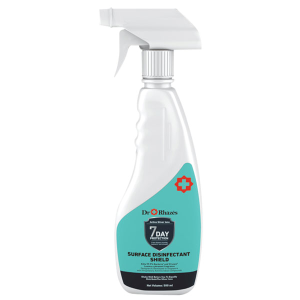 Dr + Rhazes Surface Disinfectant Shield 500ml