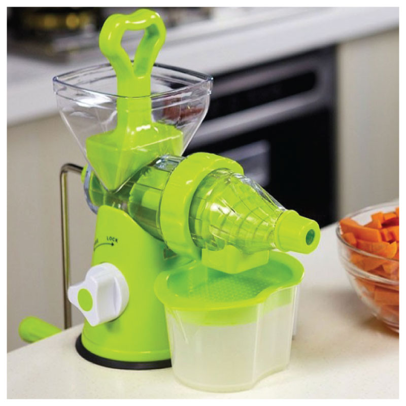 Wizard fruit and vegetable juicer