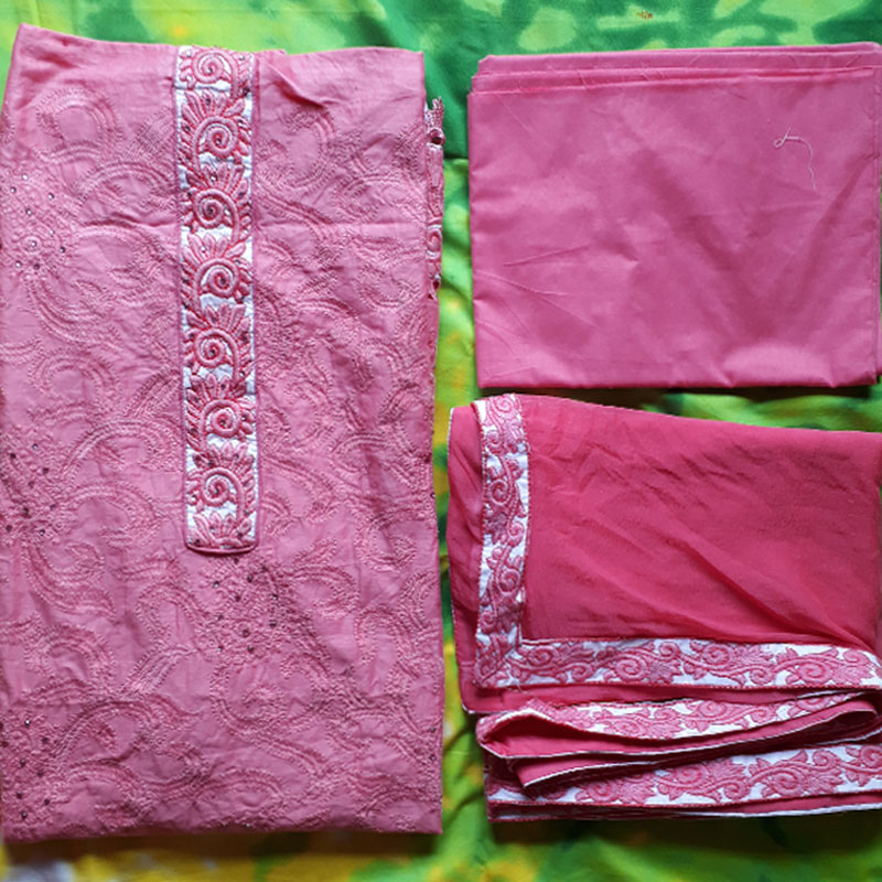 Gorgias Embroidery Three Piece KPR-225